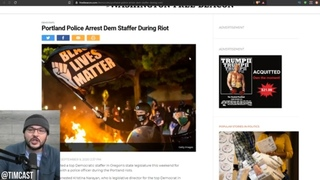 Trumps Plan WORKED, Antifa Is Running Scared From Feds, Democrat ARRESTED Rioting In Portland