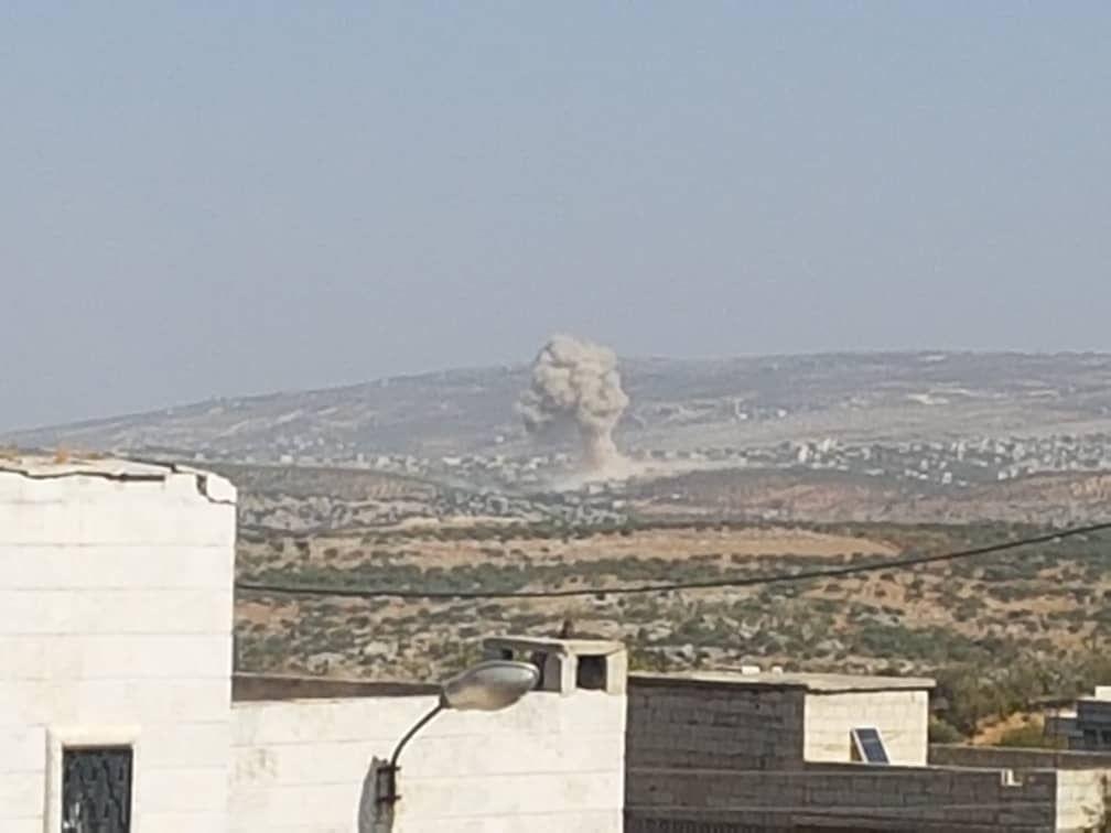 Самолеты ВКС России сегодня наносят удары по боевикам в провинции Идлиб