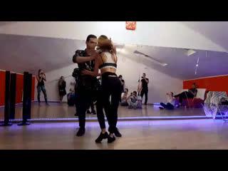 Бачата в Казани. Габриэль и Мария. Студия танца Sense