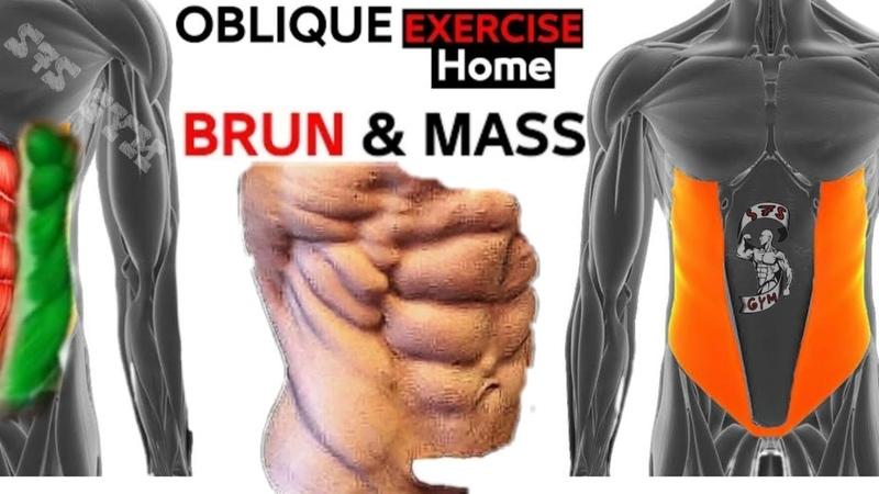 اقوى 15 تمارين تضخيم عضلة البطن الجانبية V Cut Abs Workout