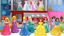 Princesses Magiclip Wedding Dress Up Disney Claw Machine Dolls Frozen Elsa Tiana Aurora Rapunzel