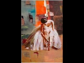 "Видео-урок Игоря Сахарова ""Балеринка"" / Как написан фон?"