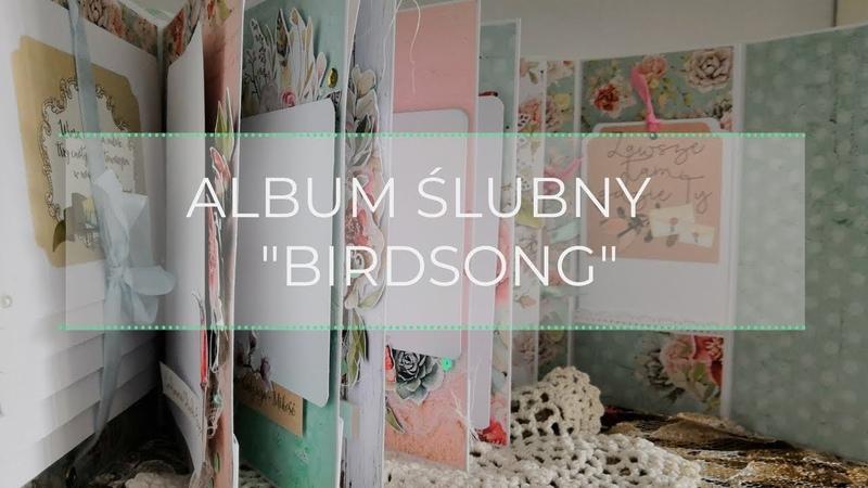 Album Ślubny Birdsong Mintay Papers