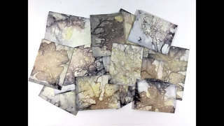 How To Make Eco Prints or Boiled Book Pages