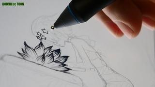 【Dr. STONE Z=163】 Luna| Boichi's Manga Drawing Show #31