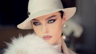 Memories in Casablanca - chic cat eye make-up