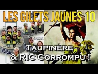 ADBK : Les Gilets Jaunes 10 - Taupinière & Référendum d'initiative citoyenne corrompu !