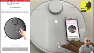 ROBOT Süpürge Pişmanlık mı? Xiaomi Mop inceleme ve Kurulum   Wifi Oda Tanıtım