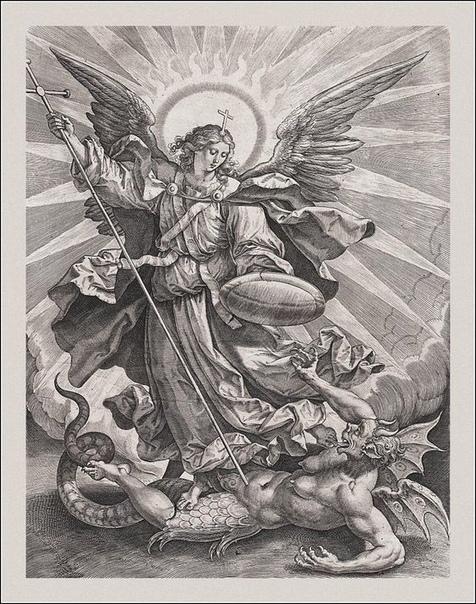 archangel michael tattoo - 735×1026