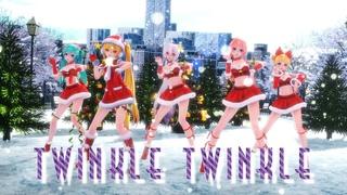 ≡MMD≡  ❄️Twinkle Twinkle ❄️ [WQHD60FPS][Eng sub]