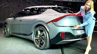 Новый кроссовер Киа EV6. Интерьер - новый Kia Sportage