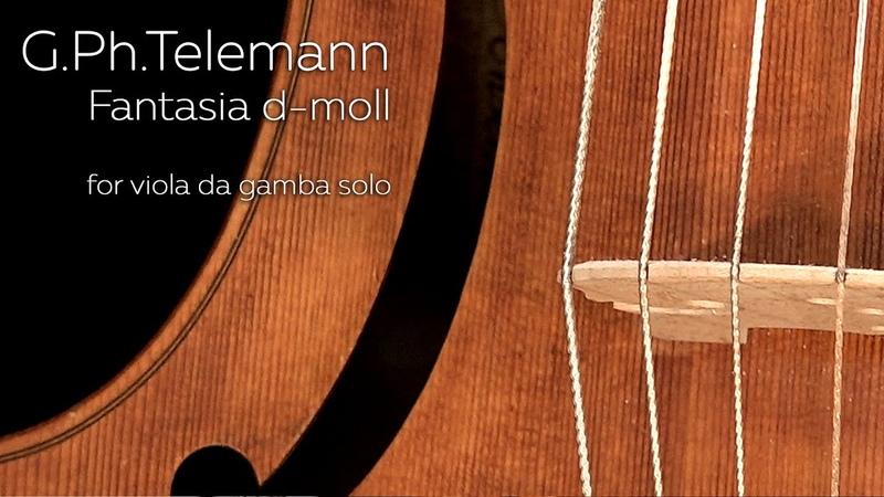Fantasie 11 Pavel Serbin Viola da gamba