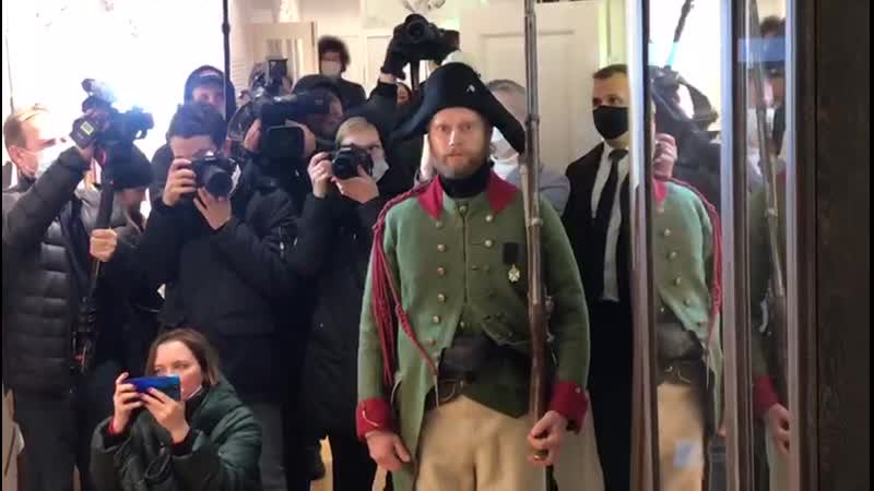Открытие музея Суворова в Новой Ладоге