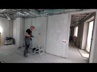 Как сделать шпаклевку стен под обои от А до Я