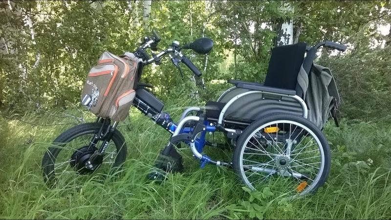 Кумертау Электроколяска ч 1 Electric wheelchair