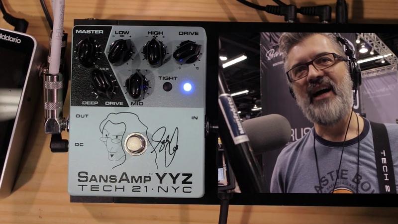 Geddy Lee Signature SansAmp YYZ Tech 21
