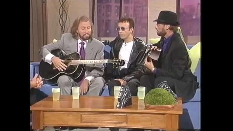 How Deap Is Your Love Bee Gees Live 1998