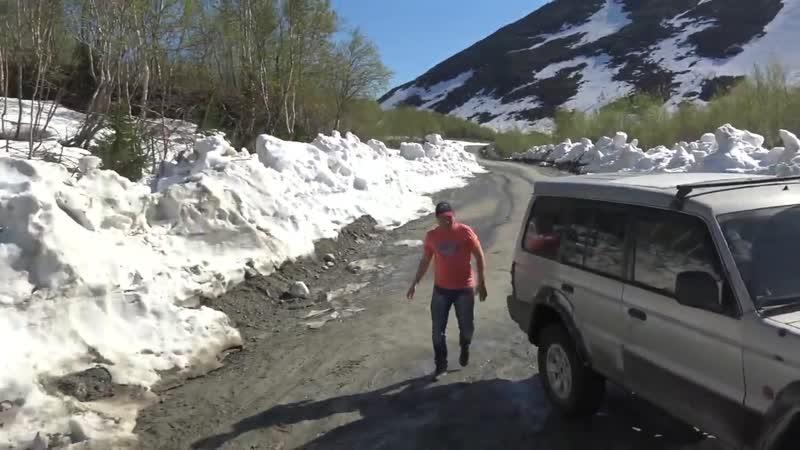 Попытка найти бездорожье Ждем когда растает снег