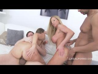 Ass eating sluts angel karyna & lara de santis double anal foursome