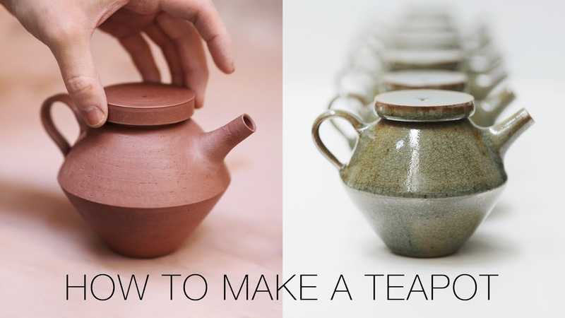 How to Make a Ceramic Teapot from Beginning to End