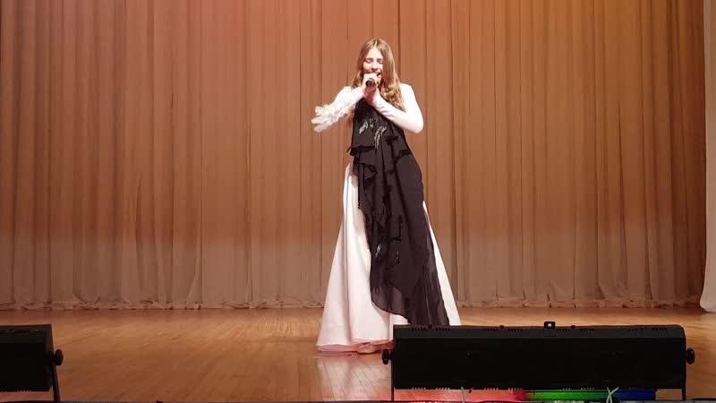Падерина Эвелина 12 лет эстрадный вокал Белая ворона