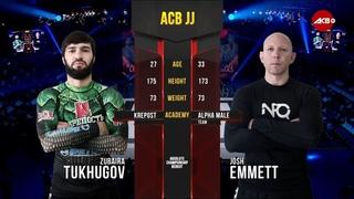 ACB JJ 14: Зубайра Тухугов vs.Джош Эммет / Zubaira Tukhugov vs Josh Emmett