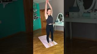 Утренняя тренировка с Стефанией Елфутиной