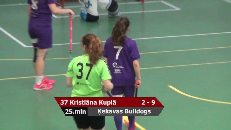 MU16 Spēle par bronzu: FK NND/RJTC - Ķekavas Bulldogs 5:13 (18.04.2018)