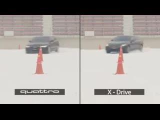 Сравниваем полные приводы немецкого автопрома: 4MATIC Mercedes-Benz xDrive BMW Quattro AUDI