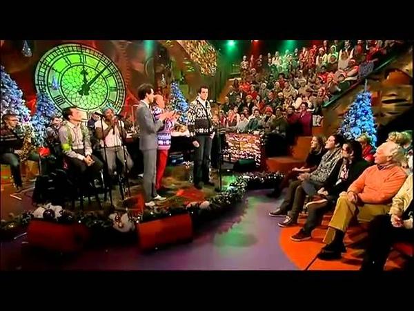 Jingle Bells battle with Mika in Langs de Leeuw 22-12-2012