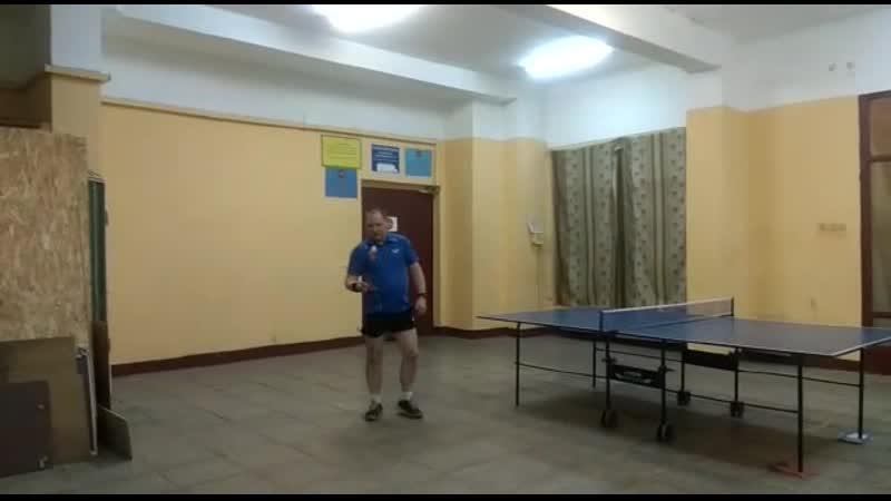 Видео урок по настольному теннису разминка 14 11 2020