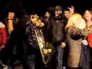 Жители Бирюлёво вышли на улицы после убийства 25-летнего москвича Егора Щербакова ()