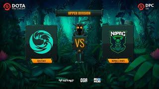 beastcoast vs NoPing e-sports, Dota Pro Circuit 2021: S1 - SA, bo3, game 1 [Lazar' & Mortalles]
