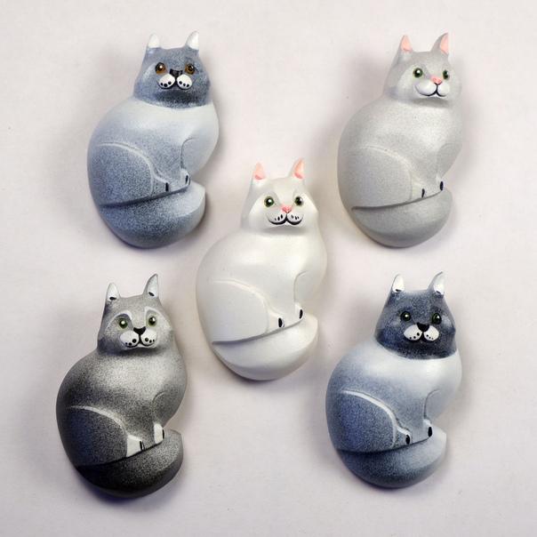 Новые серенькие котики!😃