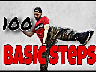 Top 100 Hip-Hop Basic Steps by Vaho |