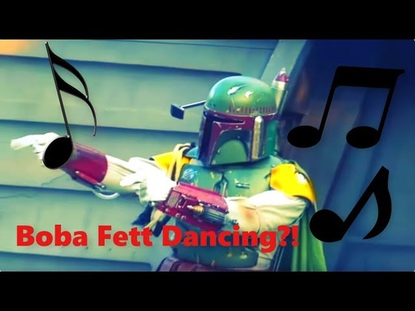 Boba Fett Can Dance to Anything