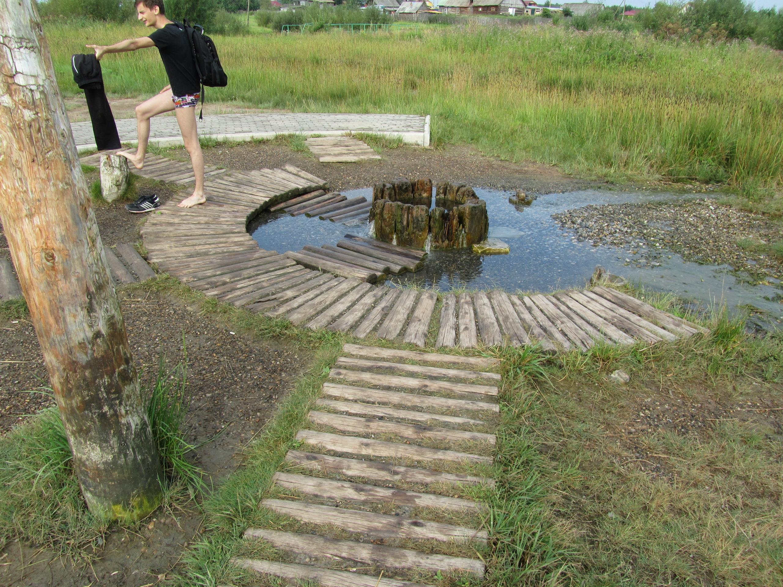 Людмилинская скважина Соликамск