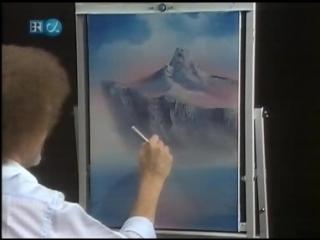 Уроки рисования Боба Росса Bob Ross - The Joy of Painting - S28-12 - Mountain Serenity
