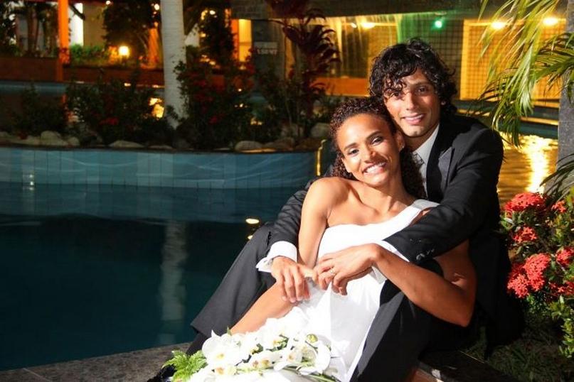 С мужем Патрисио Мартинесом