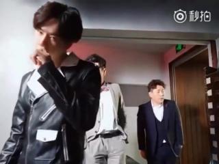 """[VIDEO] 170101 На съемках дорамы """"Super Talent"""""""