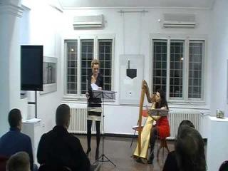 "Deborah Henson-Conant "" NEW BLUES "" arr. for flute and lever harp"