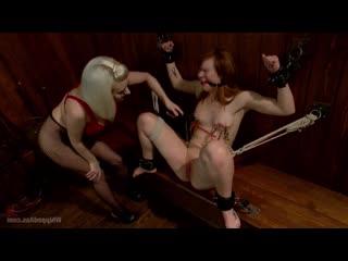 Claire Robbins Госпожа издевается над рабыней  [BDSM, Domination. porno, Sex, hard, rough, бдсм, секс, жестко]