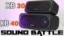 Sony SRS XB30 vs XB40 SoundBattle
