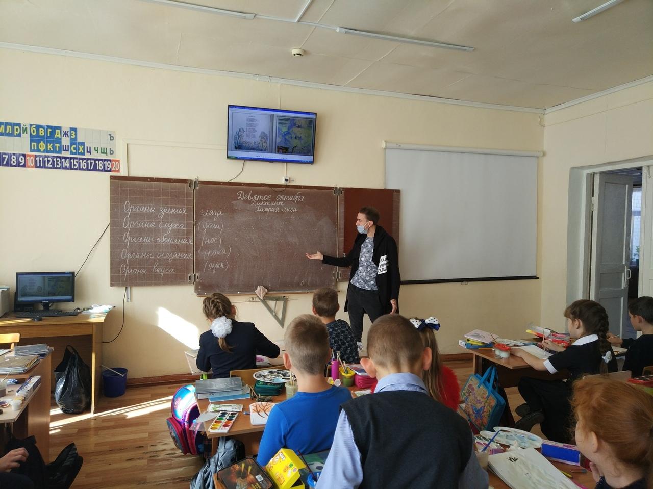 Добровольцы детско-юношеского Центра рассказали младшим школьникам об опасности новой коронавирусной инфекции