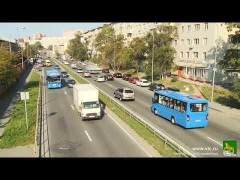 На дороги Владивостока вышли новые автобусы