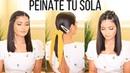 APRENDE A PEINARTE SOLA! PEINADOS FACILES Y RAPIDOS | Bessy Dressy