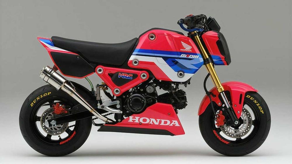 HRC предлагают гоночный минибайк Honda Grom