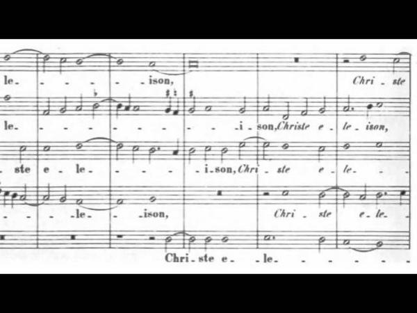 Palestrina Missa O Virgo simul et Mater Kyrie