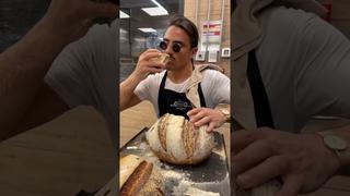 Salt bae is baking homemade bread 🥖 Nusret ,Nusr et #saltbae | Солонка выпекает домашний хлеб 🥖