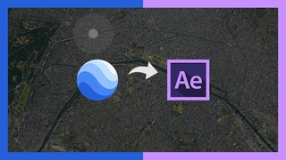 Google Earth Studio + Adobe After Effects = 😎🔥